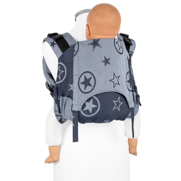 Fidella® Onbuhimo V2 - Back Carrier - Outer Space - blue - Toddler