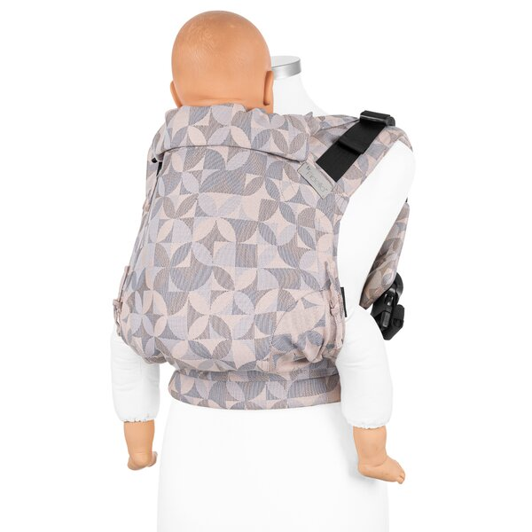 Fidella® Fusion 2.0 - Full-Buckle Baby Carrier - Kaleidoscope - sand - Toddler