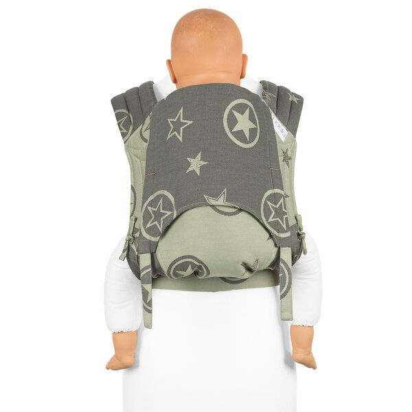 Fid-FT-TS-2138 - Fidella® Fly Tai - Mei Tai Baby Carrier - Outer Space -...