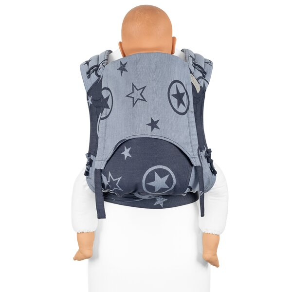 Fidella® FlyClick Plus - Half-Buckle Tragehilfe - Outer Space - blau - Toddler
