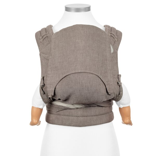 Fid-FT-BS-2139 - Fidella® Fly Tai - Mei Tai Baby Carrier - Chevron -...