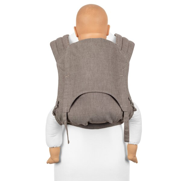 Fid-FT-TS-2139 - Fidella® Fly Tai - Mei Tai Baby Carrier - Chevron -...