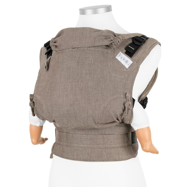 Fidella® Fusion - Full-Buckle Baby Carrier - Chevron - walnut - Baby