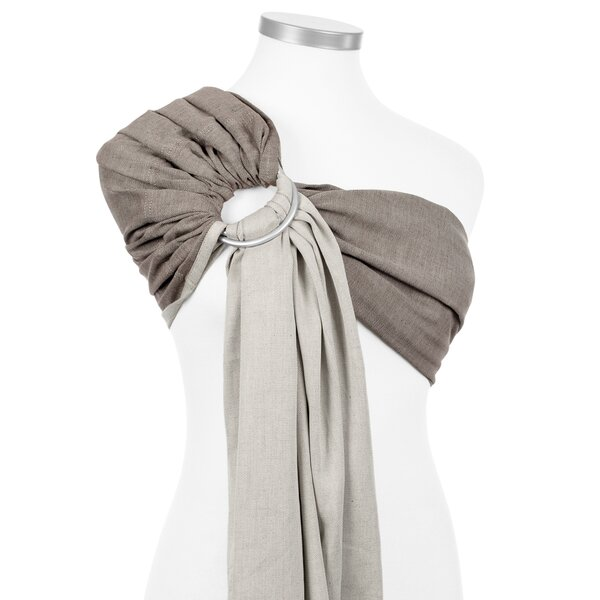 Fidella® Ring Sling - Chevron - walnut