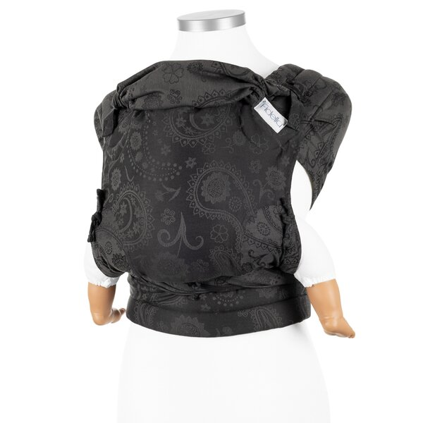 Fidella® Fly Tai - Mei Tai Baby Carrier - Persian Paisley - charming black - Baby