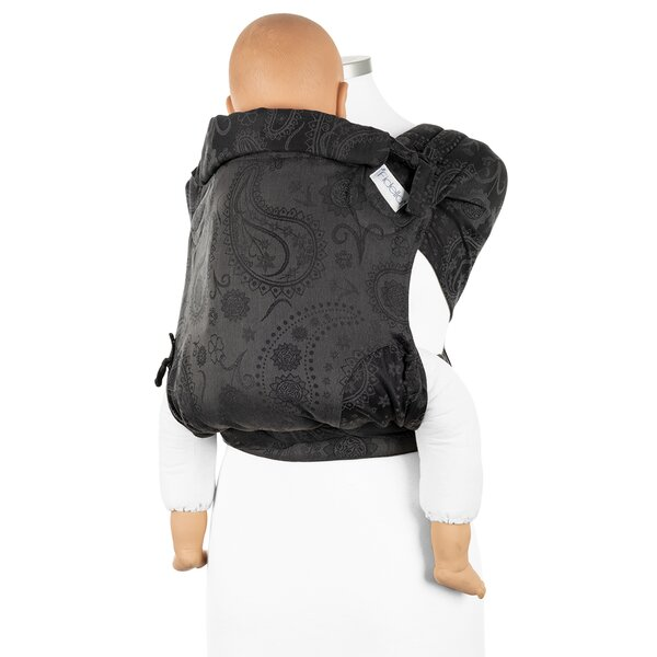 Fidella® FlyClick Plus - Half-Buckle Tragehilfe - Persian Paisley - anthrazit - Toddler
