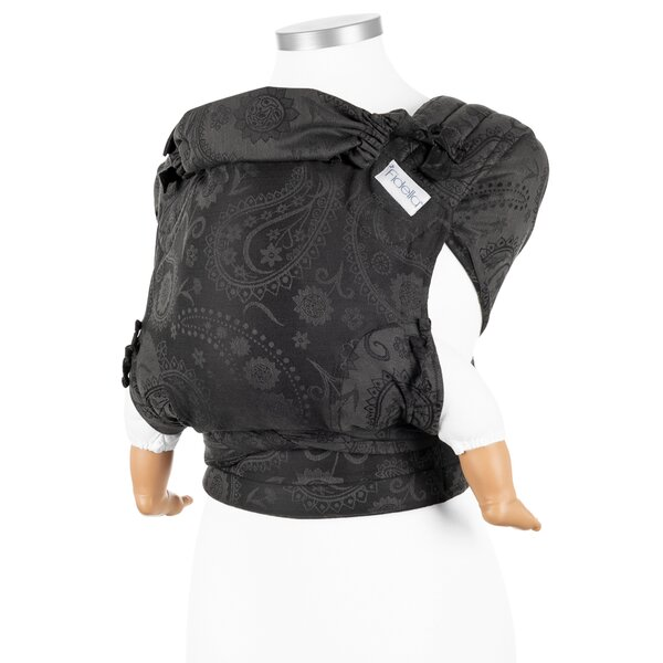 Fidella® FlyClick - Halfbuckle Baby Carrier - Persian Paisley - anthracite - Baby