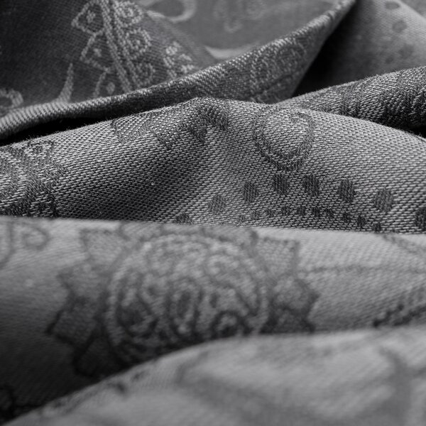 Fidella® Baby Wrap - Persian Paisley - anthracite - size 6 - 460 cm