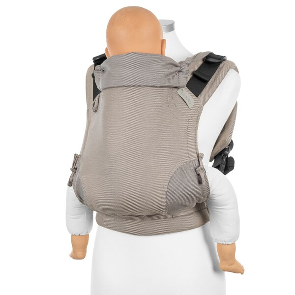 Fidella® Fusion 2.0 - Full-Buckle Baby Carrier - Lines - beige - Toddler