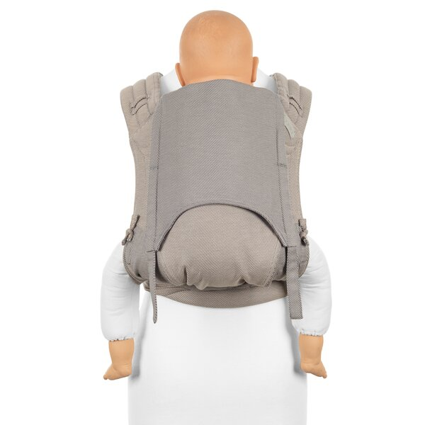 Fidella® FlyClick Plus - Halfbuckle Baby Carrier - Lines - beige - Toddler