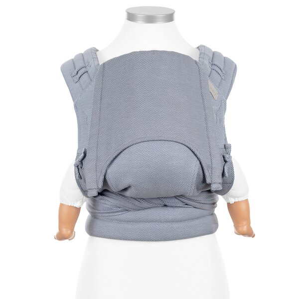 Fid-FT-BS-2149 - Fidella® Fly Tai - Mei Tai Baby Carrier - Lines - light...