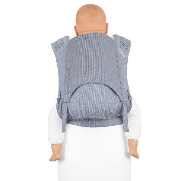 Fid-FT-TS-2149 - Fidella® Fly Tai - Mei Tai Baby Carrier - Lines - light...