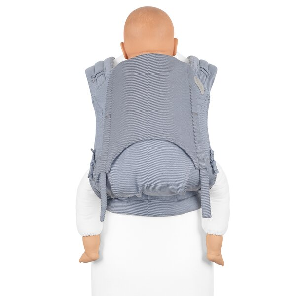 Fid-HB-2149 - Fidella® FlyClick Plus - Halfbuckle Baby Carrier - Lines...