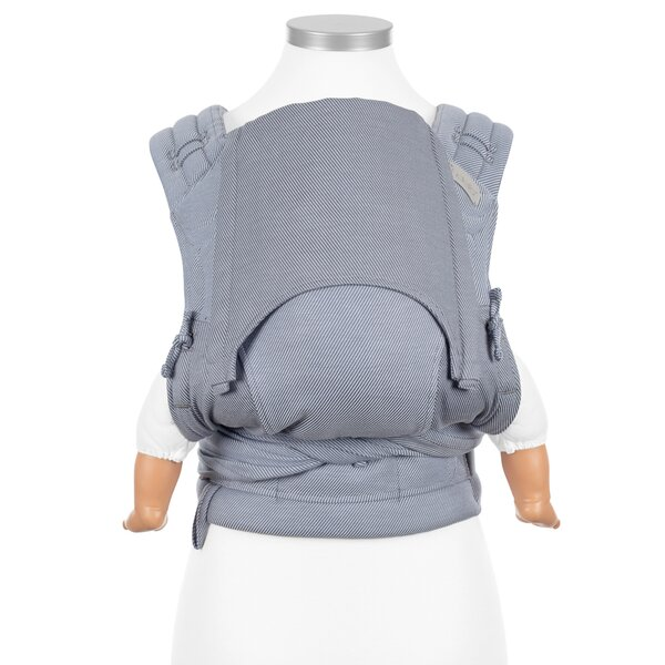 Fid-HB-BS-2149 - Fidella® FlyClick - Halfbuckle Baby Carrier - Lines -...