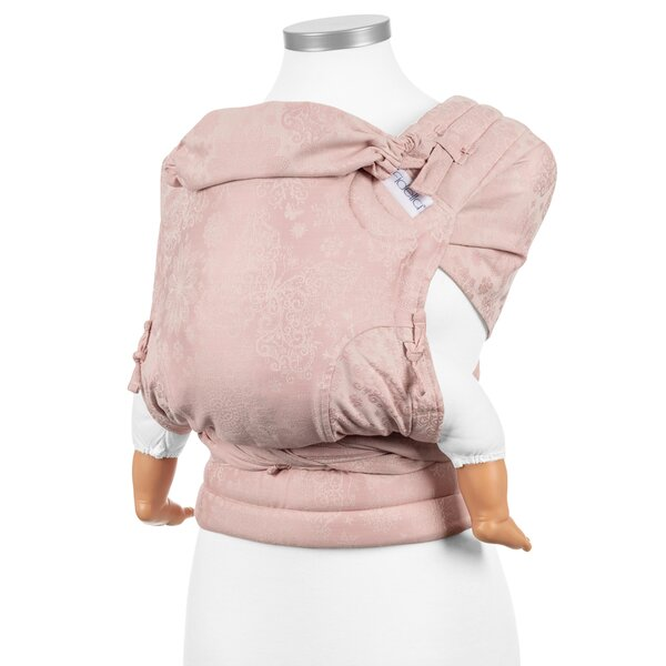 Fidella® Fly Tai - Mei Tai Baby Carrier - Iced Butterfly - pale pink - Baby