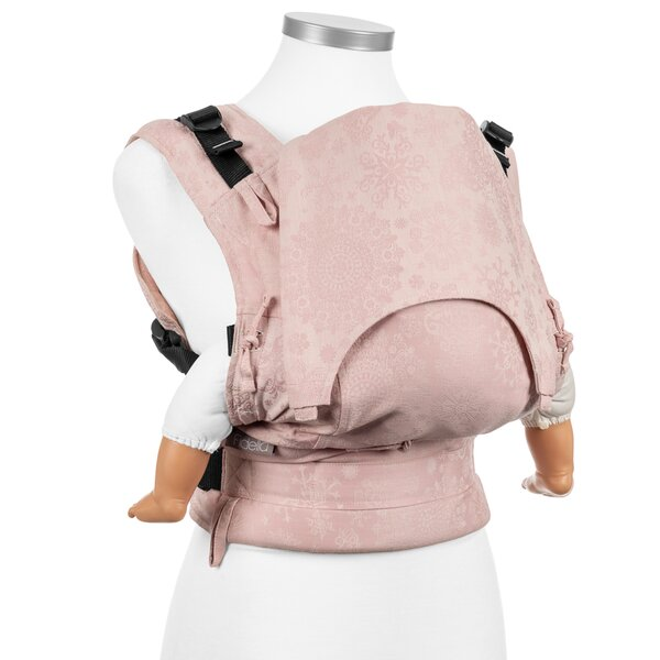 Fidella® Fusion - Full-Buckle Babytrage - Iced Butterfly - rosé - Baby