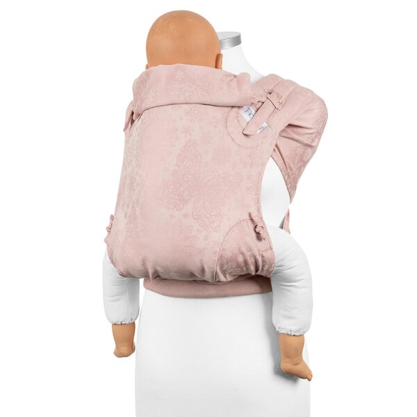 Fidella® FlyClick Plus - Halfbuckle Baby Carrier - Iced Butterfly - pale pink - Toddler