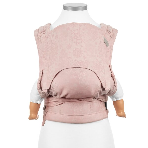 Fidella® FlyClick - Halfbuckle Baby Carrier - Iced Butterfly - pale pink - Baby