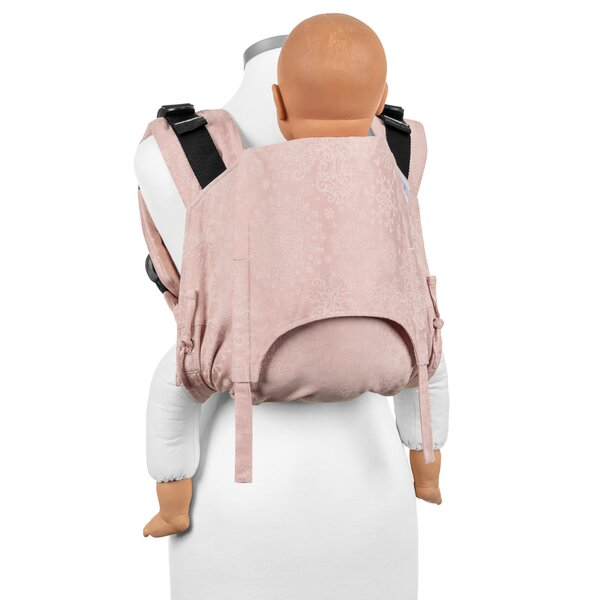 Fidella® Onbuhimo V2 - Back Carrier - Iced Butterfly - pale pink - Toddler