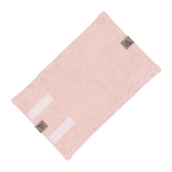 Fidella® Suck Pad for baby carriers - Iced Butterfly - pale pink
