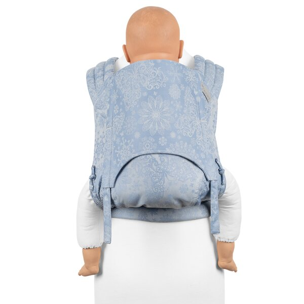 Fid-FT-TS-2151 - Fidella® Fly Tai - Mei Tai Baby Carrier - Iced Butterfly...