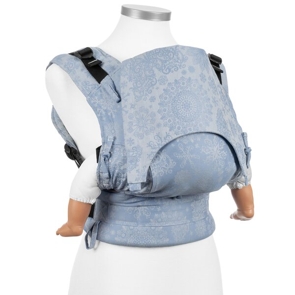Fidella® Fusion - Full-Buckle Baby Carrier - Iced Butterfly - light blue - Baby