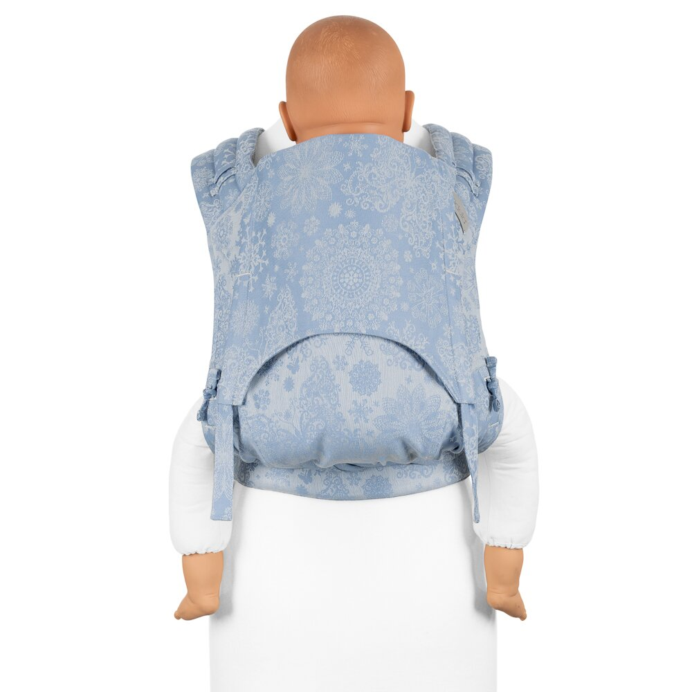 985f2205d893c9 Fidella® FlyClick Plus - Halfbuckle Baby Carrier - Iced Butterfly - light  blue - Toddler
