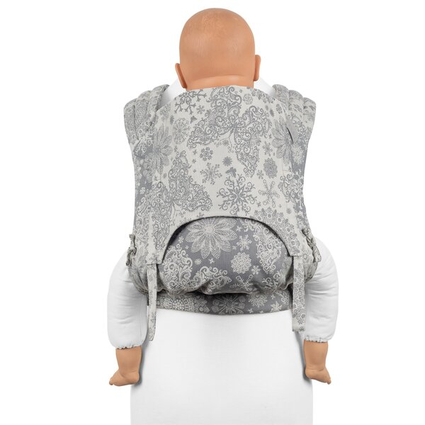 Fid-FT-TS-2004 - Fidella® Fly Tai - Mei Tai Baby Carrier - Iced Butterfly...
