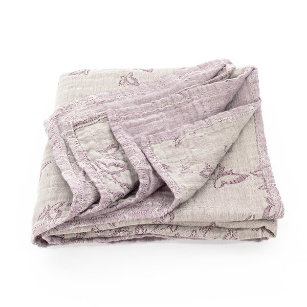 Fid-BD-2153 - Fidella® Baby Blanket All-in-One - Feel Free - lilac grey