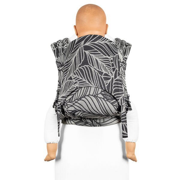 Fid-FT-TS-2159 - Fidella® Fly Tai - Mei Tai Baby Carrier - Dancing Leaves...
