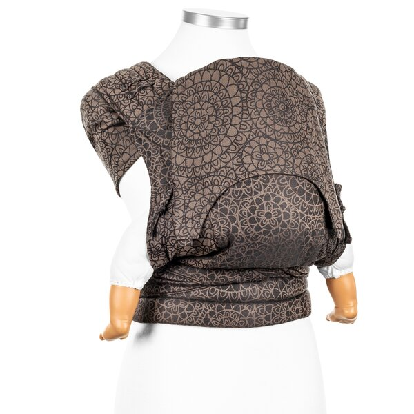 Fidella® Fly Tai - Mei Tai Baby Carrier - Mosaic - mocha brown - Baby