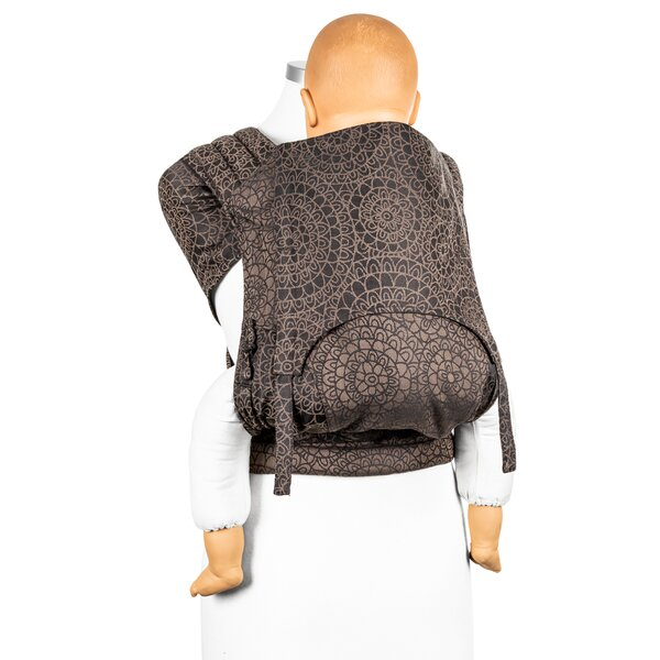 Fidella® Fly Tai - Mei Tai Baby Carrier - Mosaic - mocha brown - Toddler