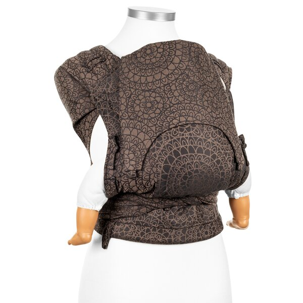 Fidella® FlyClick - Halfbuckle Baby Carrier - Mosaic - mocha brown - Baby