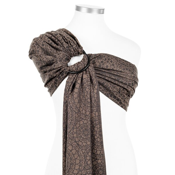Fidella® Ring Sling - Mosaic - mocha brown
