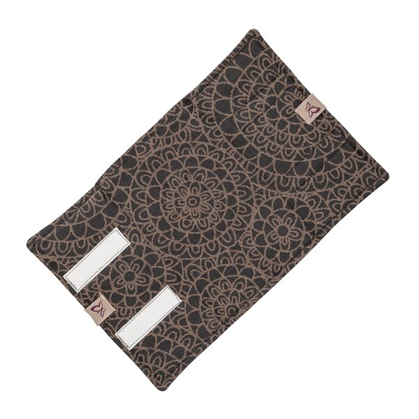 Fidella® Suck Pad for baby carriers - Mosaic - mocha brown