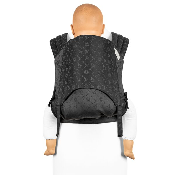 Fidella® Fly Tai - Mei Tai Baby Carrier - Saint Tropez - charming black - Toddler