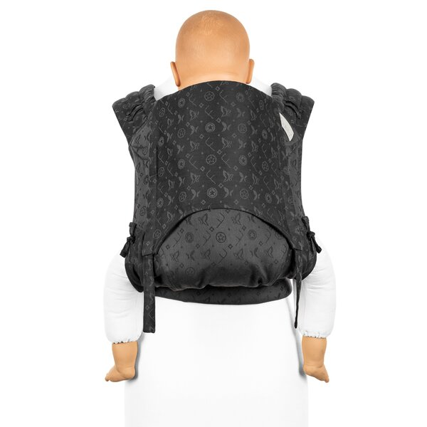 Fidella® FlyClick Plus - Halfbuckle Baby carrier - Saint Tropez - charming black - Toddler
