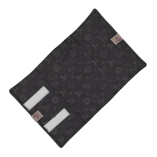 Fidella® Suck Pad for baby carriers - Saint Tropez - charming black