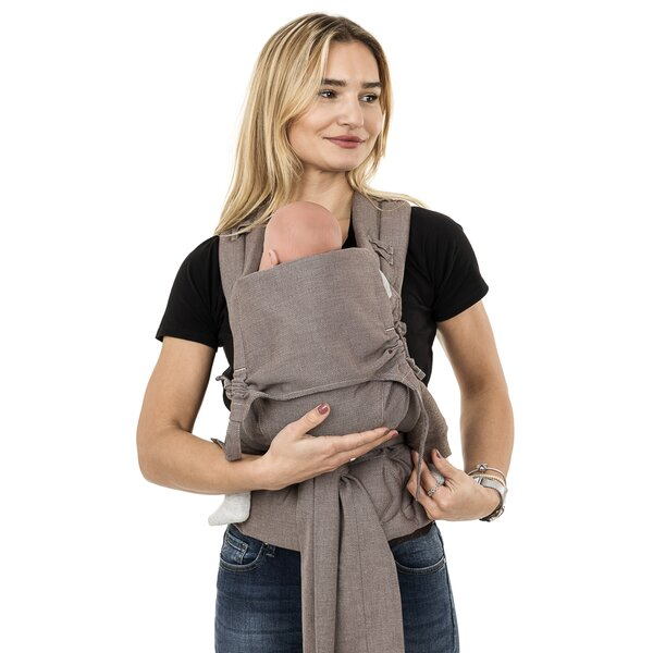 Fid-FC-BS-2139 - Fidella® FlowClick - Halfbuckle Baby Carrier - Chevron -...