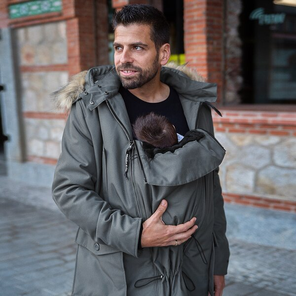 BANDICOOT - Babywearing jacket for fathers