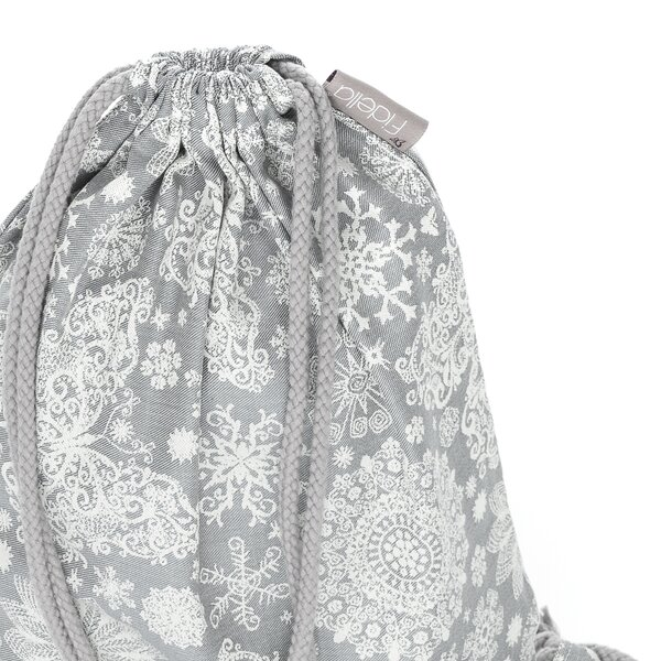 Fidella® DayBag - Iced Butterfly - gris