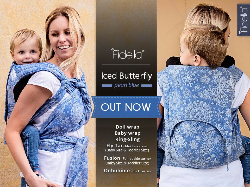 New Fidella Designs - Iced Butterfly -pearl blue-  Release August 24th, 2016