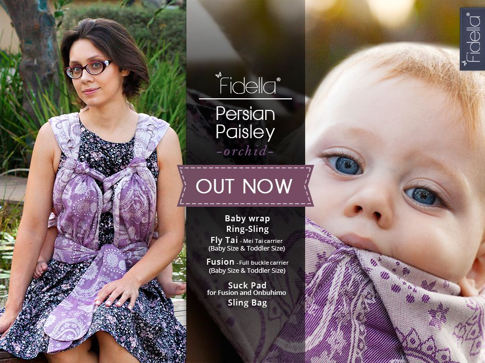 New Fidella Design - Persian Paisley -orchid- Release October 26th, 2016