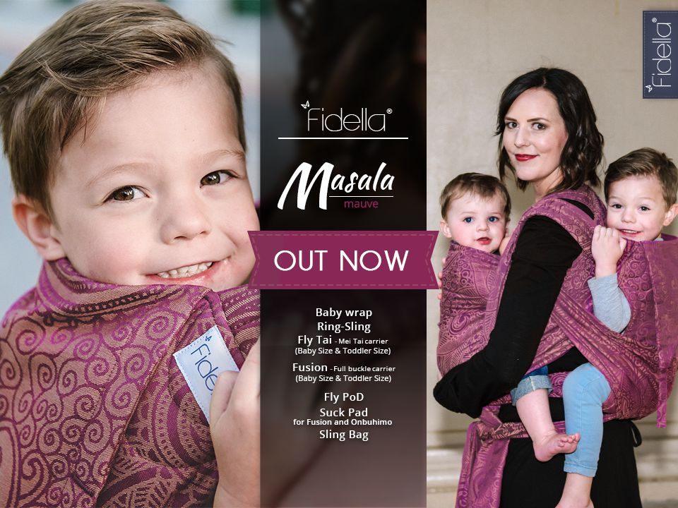 New Fidella Design - Masala -mauve- Release November 09th, 2016