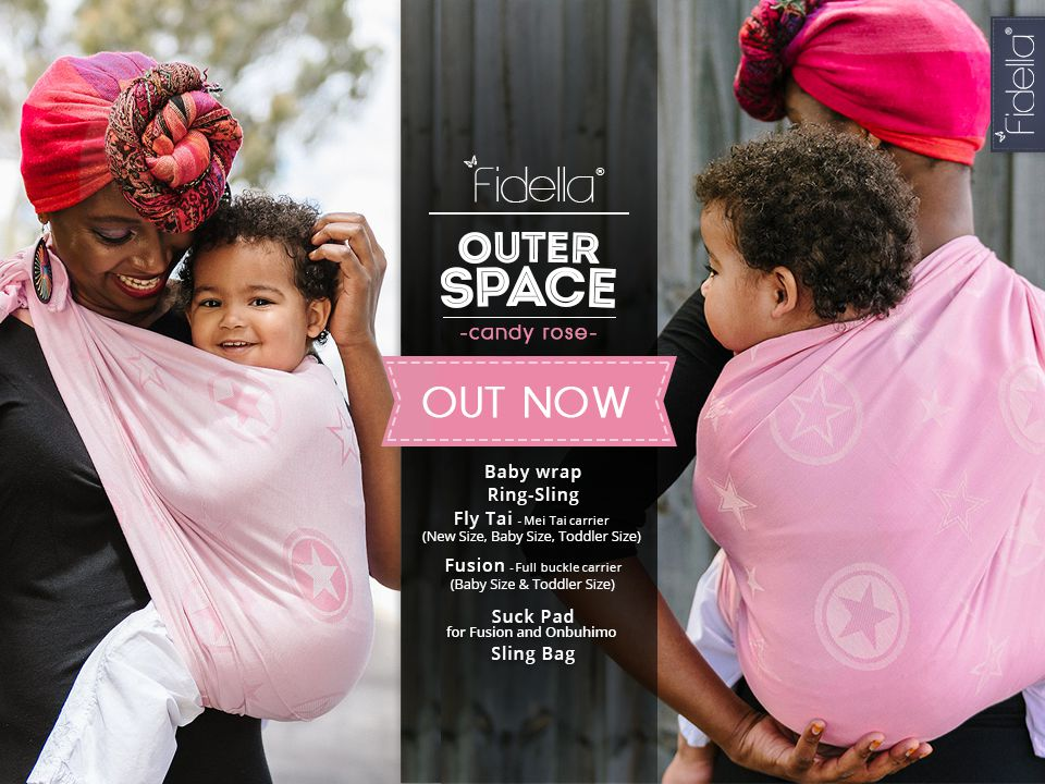 NEU: Fidella Design - Fidella Outer Space -candy rose-  Release 30. November 2016