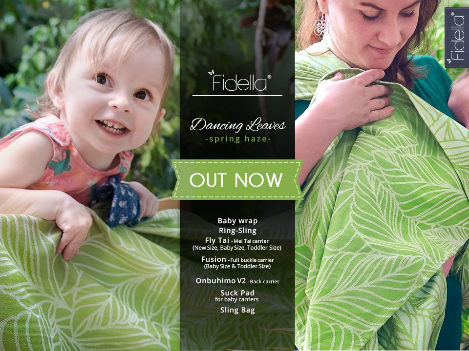 New Fidella Designs - Dancing Leaves -spring haze-  Release May 10th, 2017