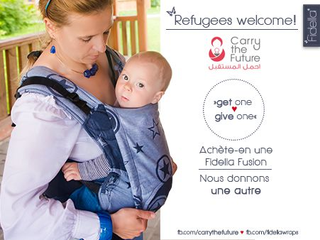carry the future - refugee donation