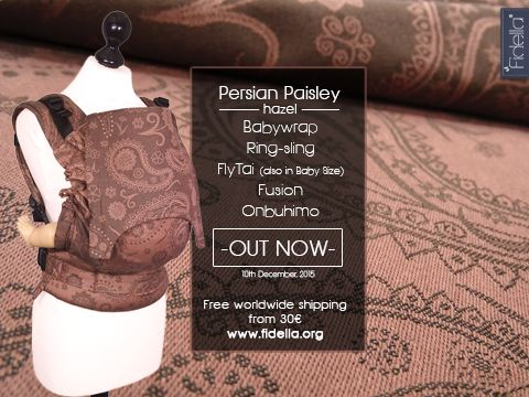 Persian Paisley Hazel release picture