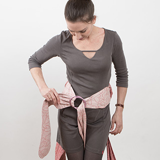 Fly Tai Hip Belt with a Ring and Candy Cane Chest Belt step 4