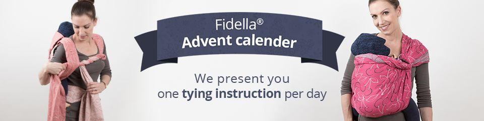 Fidella advent calender - We present you 